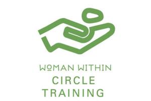 Woman Within Circle Training Logo